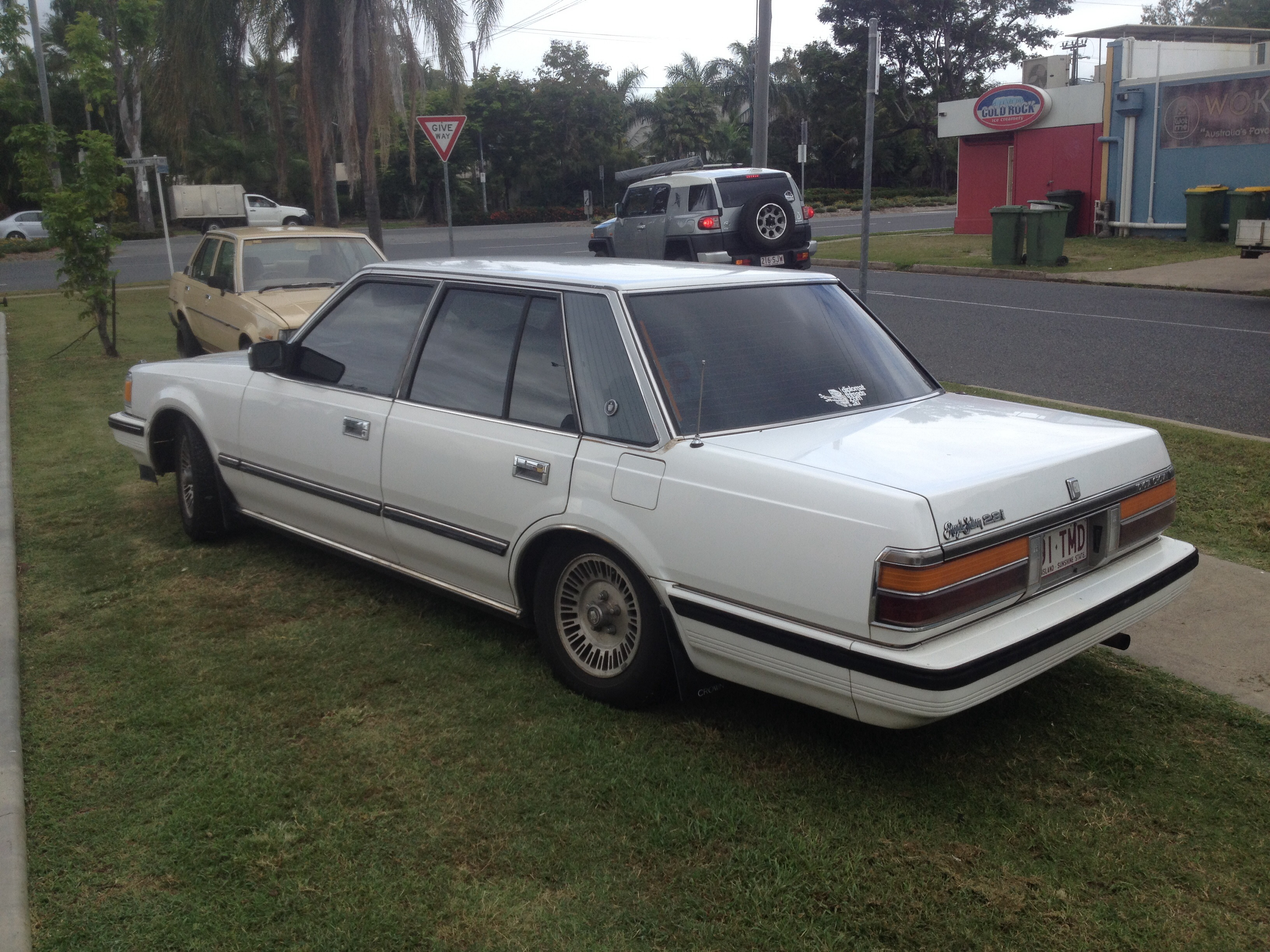 North Point Toyota >> 1985 Toyota Crown | Car Sales QLD: Rockhampton