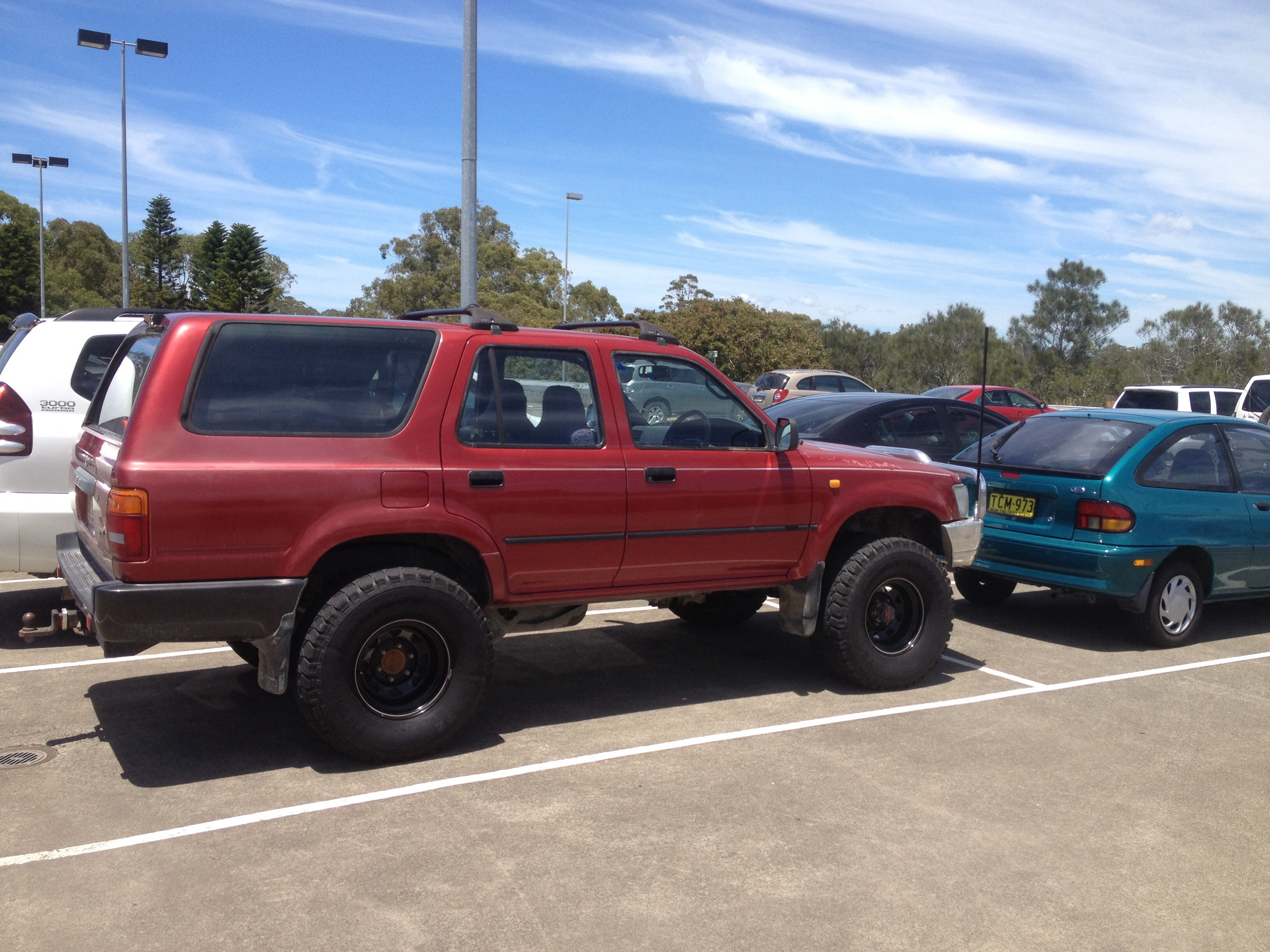 1992 toyota 4 runner for sale or swap nsw mid north. Black Bedroom Furniture Sets. Home Design Ideas