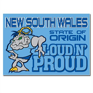 Sydney Fashion Hunter - The Wednesday Pants #40 - NSW State Of Origin Loud & Proud