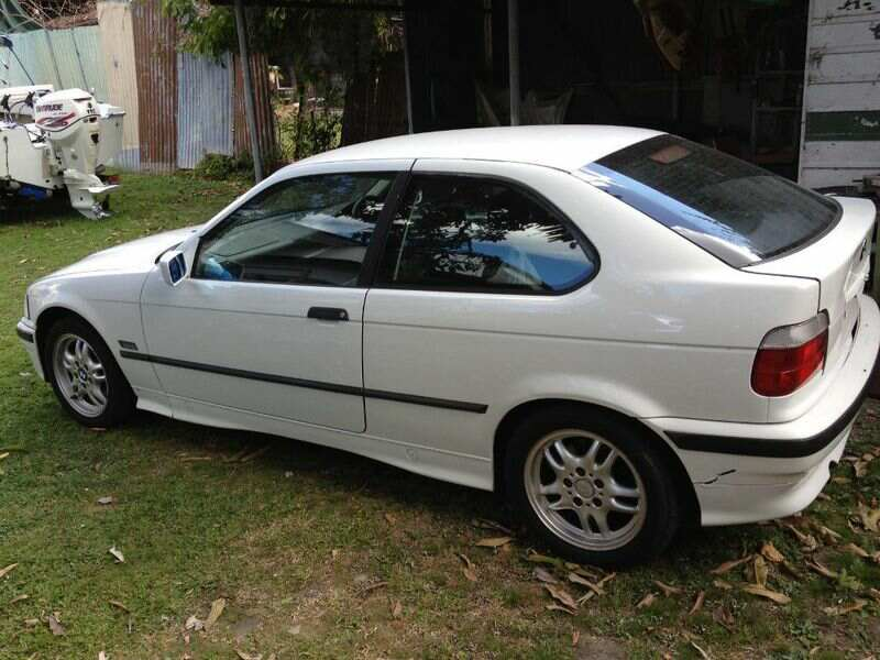 1997 bmw 316i compact e36 car sales qld brisbane 2283218. Black Bedroom Furniture Sets. Home Design Ideas