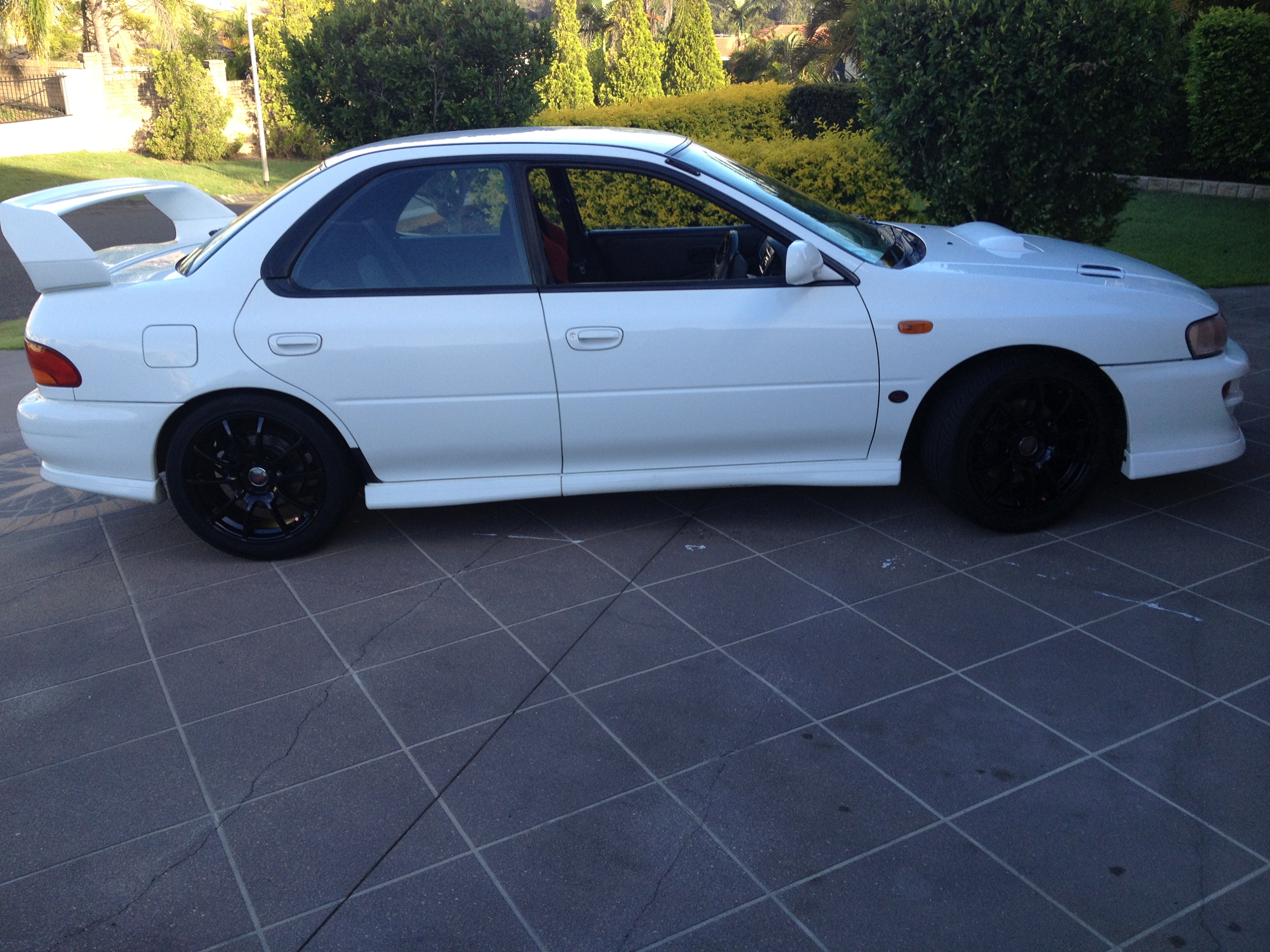 1999 subaru impreza wrx sti my99 car sales qld brisbane. Black Bedroom Furniture Sets. Home Design Ideas