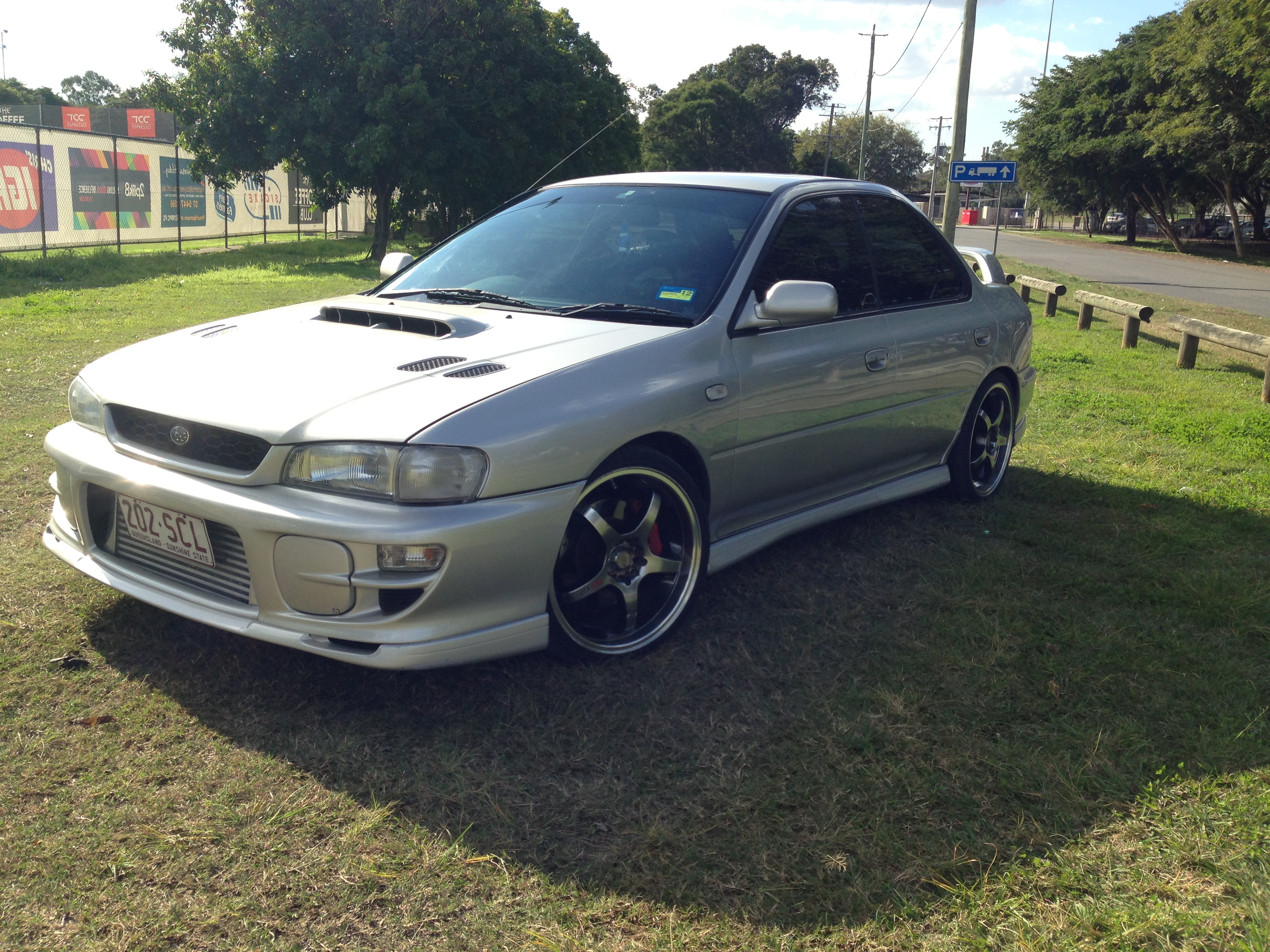 1999 subaru impreza wrx awd my00 car sales qld brisbane. Black Bedroom Furniture Sets. Home Design Ideas
