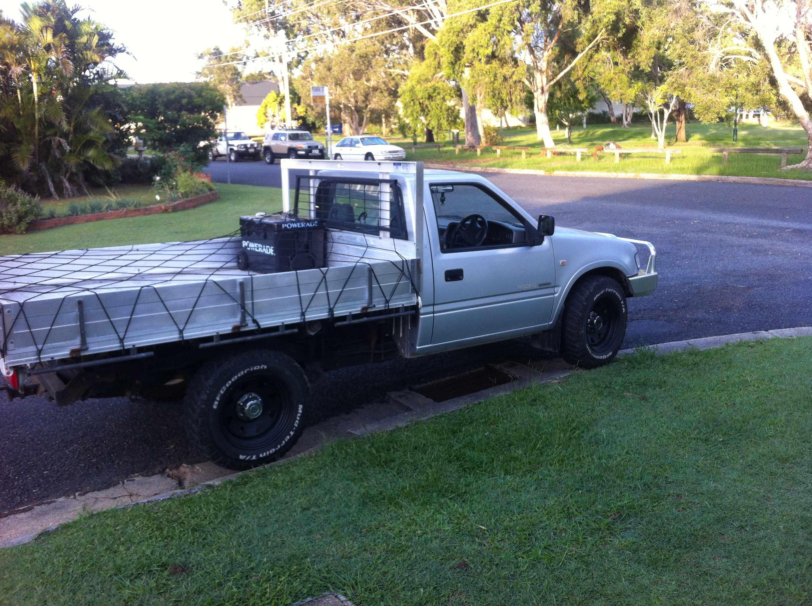 2002 Holden Rodeo Lx 4x4 Tfr9 My02 Car Sales Qld