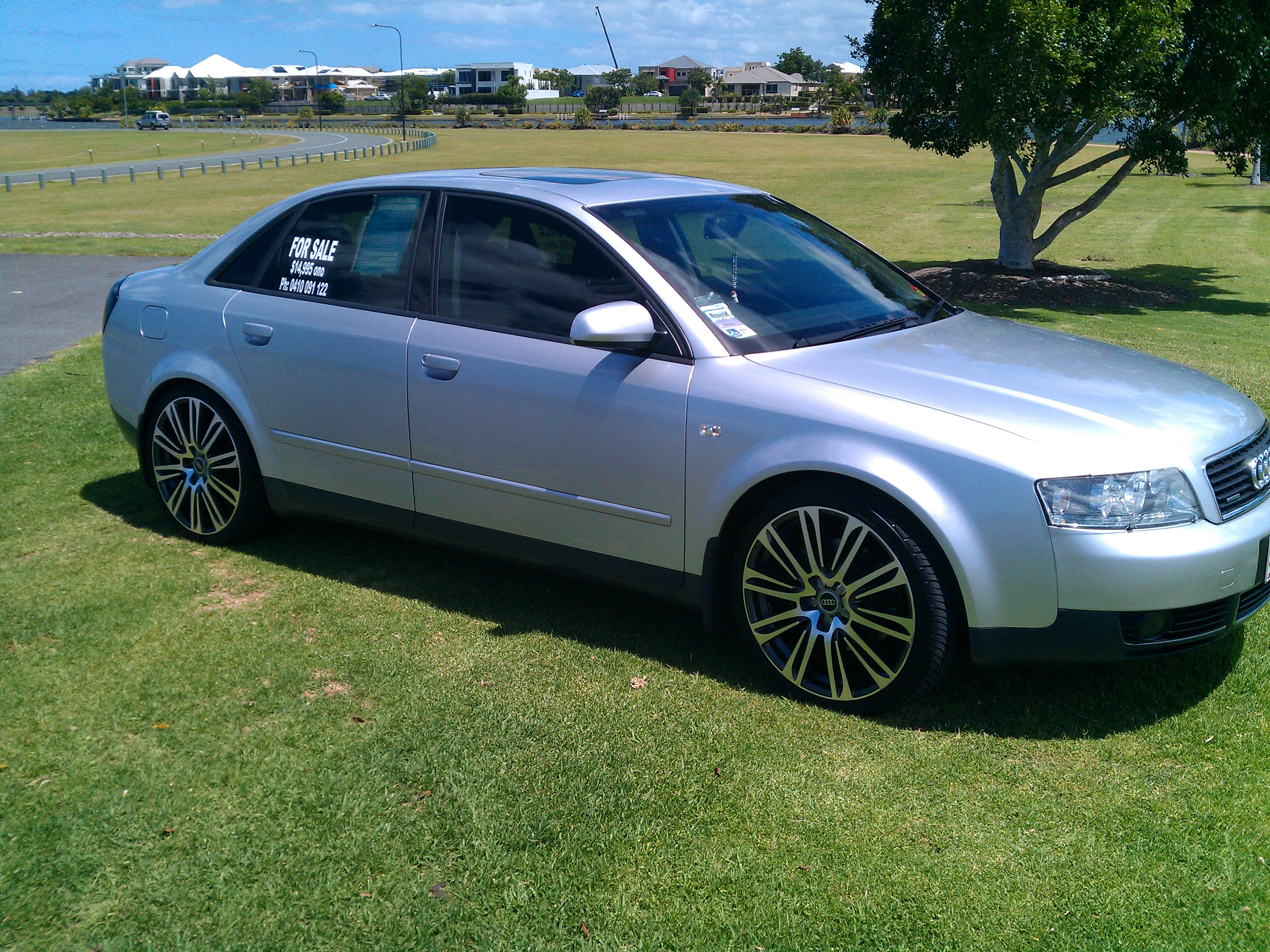 2003 audi a4 1 8 turbo quattro b6 car sales qld gold. Black Bedroom Furniture Sets. Home Design Ideas