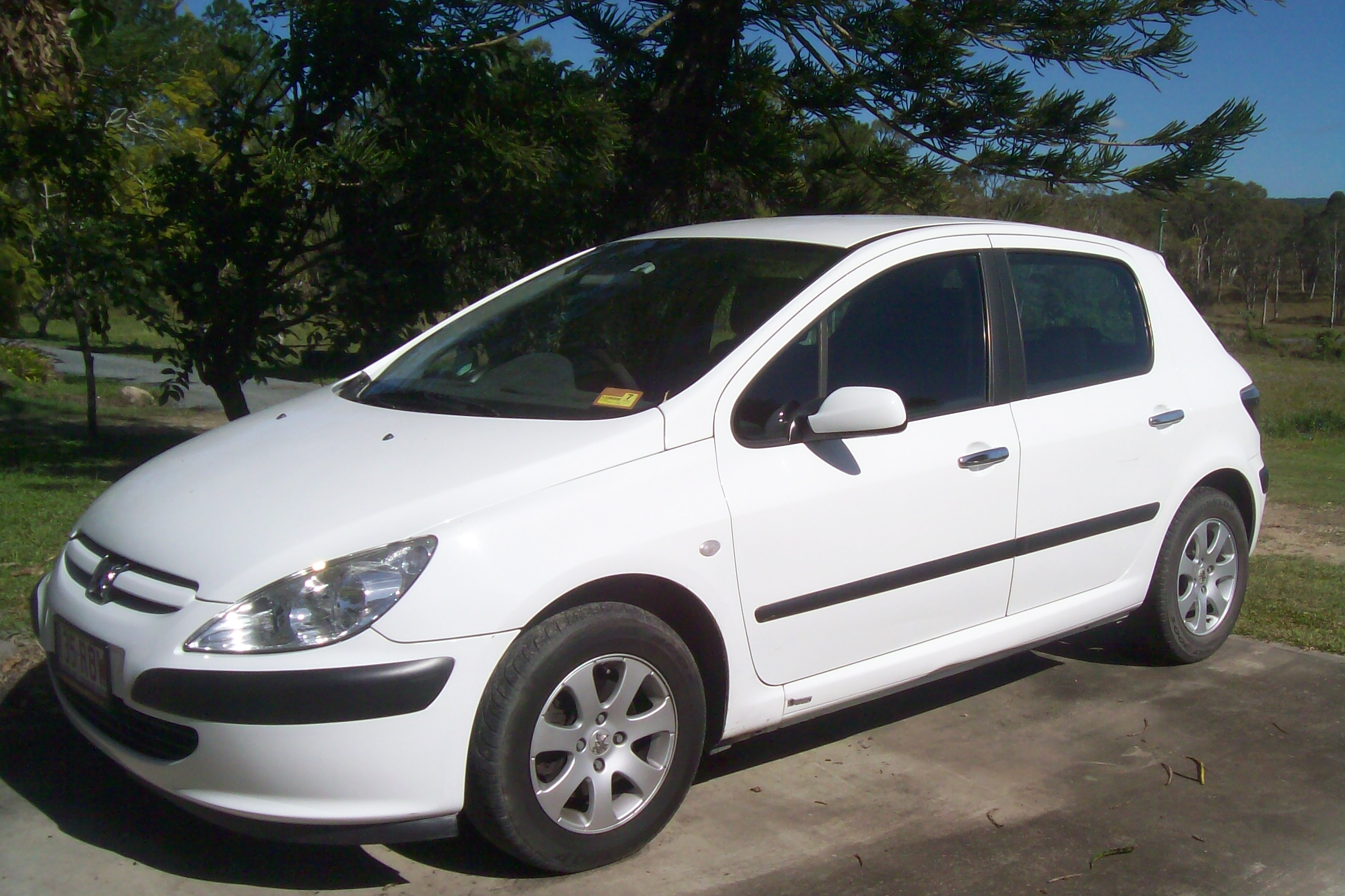 2003 peugeot 307 1 6 car sales qld brisbane south. Black Bedroom Furniture Sets. Home Design Ideas