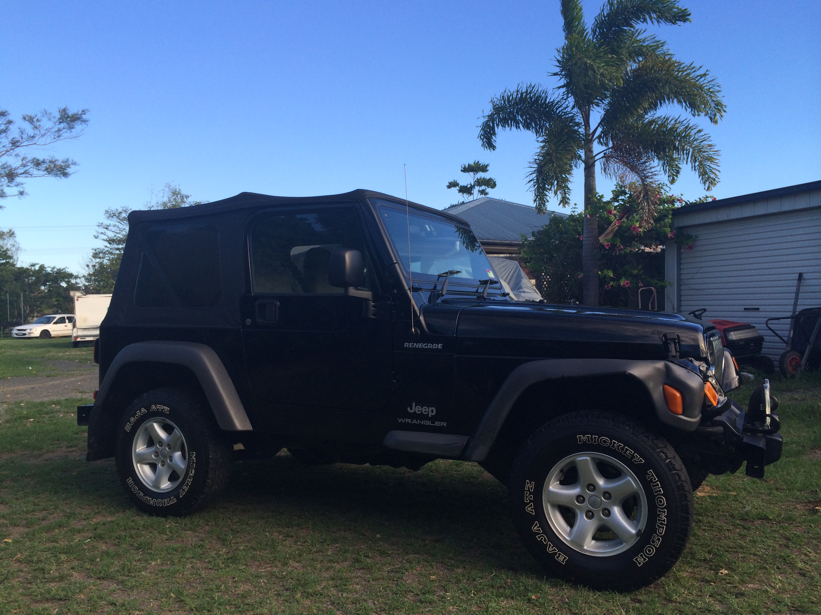 2005 jeep wrangler renegade 4x4 tj for sale or swap qld brisbane 2434862. Black Bedroom Furniture Sets. Home Design Ideas
