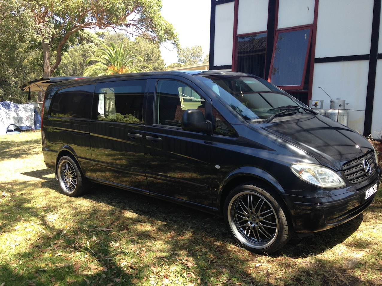 2005 benz vito 115cdi extra long car sales qld sunshine coast. Black Bedroom Furniture Sets. Home Design Ideas