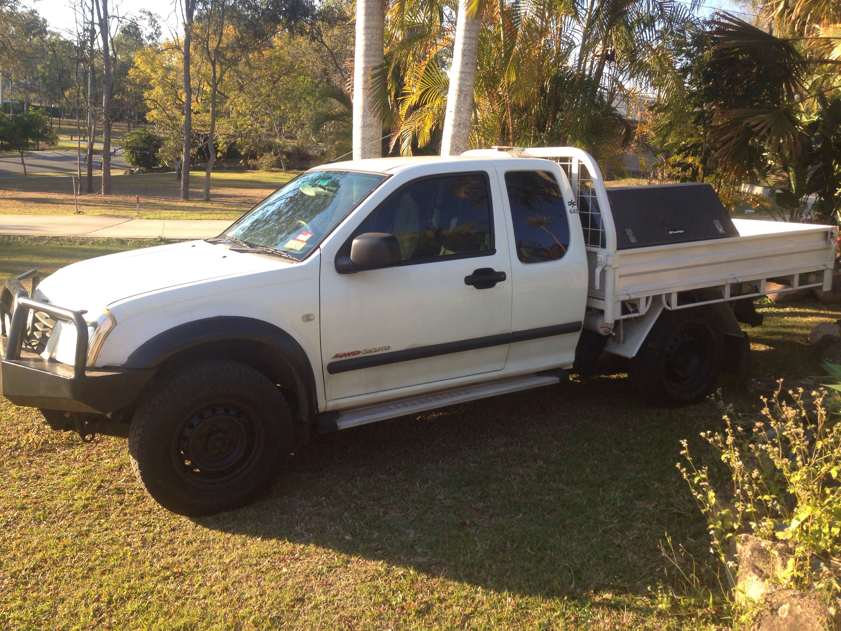 Holden Rodeo Off Road 4x4 Pictures