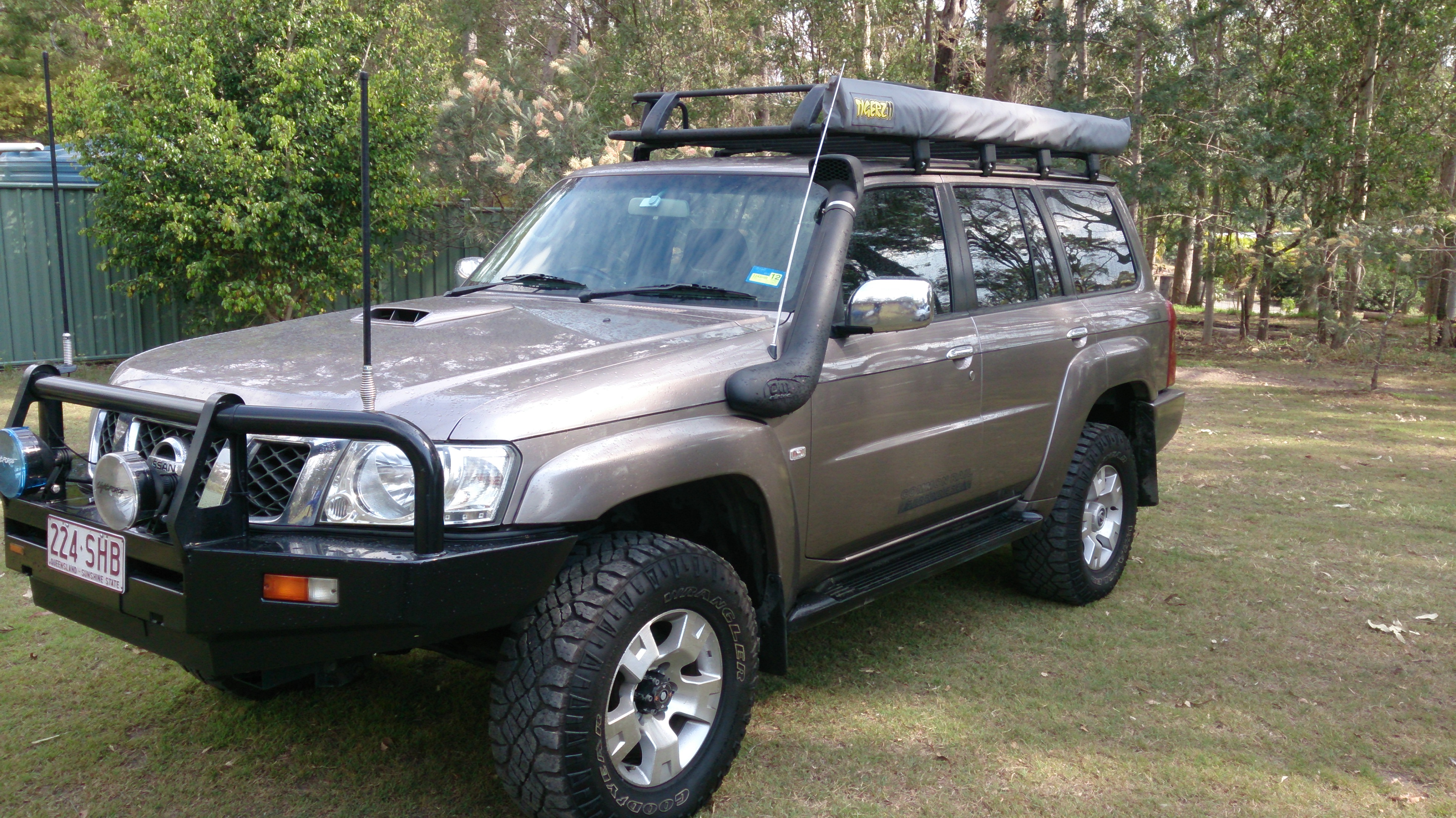 2008 nissan patrol st 4x4 gu my08 car sales qld brisbane south 2278007. Black Bedroom Furniture Sets. Home Design Ideas