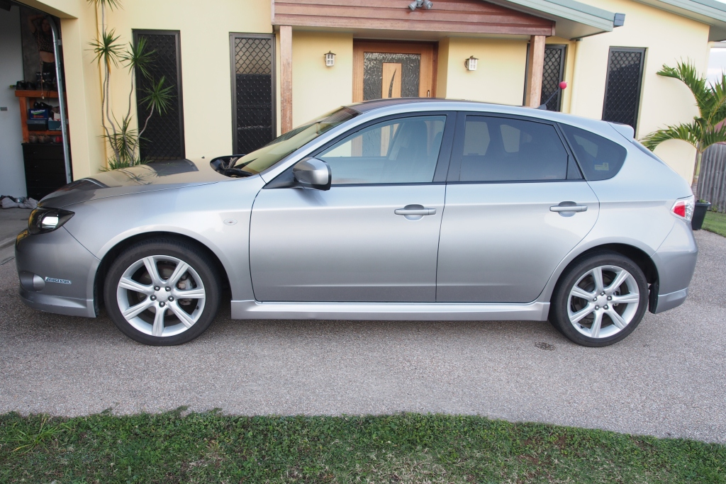 2008 Subaru Impreza Rs Awd My08 Car Sales Qld Mackay