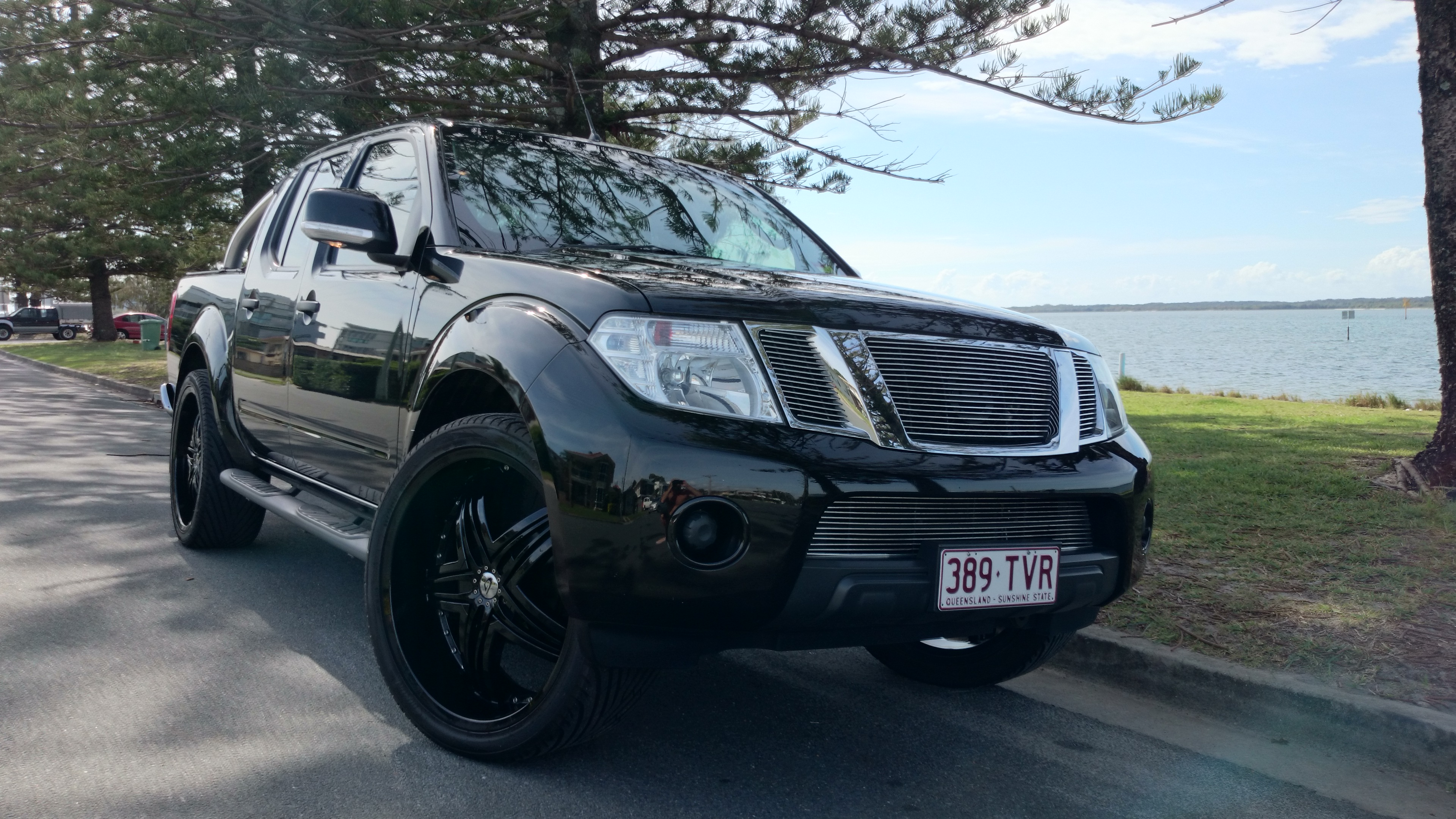2012 nissan navara st 4x4 d40 my12 car sales qld gold coast 2459475. Black Bedroom Furniture Sets. Home Design Ideas