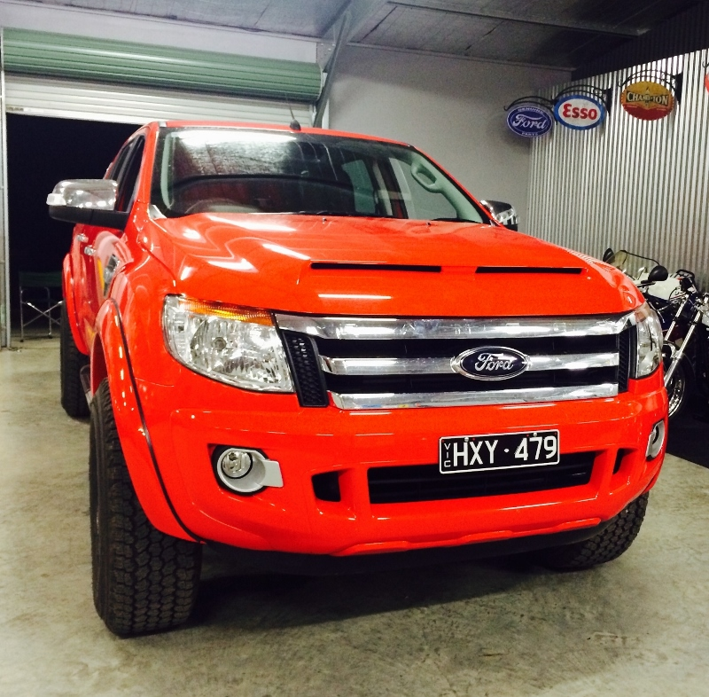ford ranger px owners manual